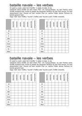 Bataille navale: les verbes en -dre