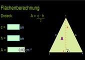 Flächenberechnung - automatisch - interaktiv