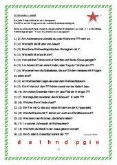 Adventskalender 2014 - Zusammenstellung Teil 2