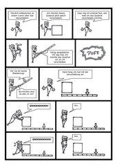 Comic zur Parallelverschiebung