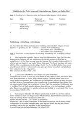 Zeitstruktur u. -gestaltung in Joseph Roths