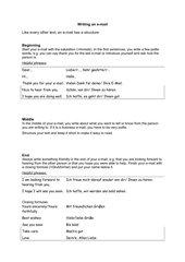 Writing an e-mail