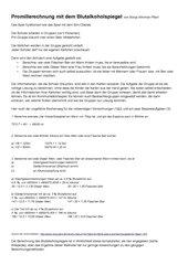 Kommunikationsspiel Blutalkohol-Berechnung