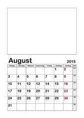 Schuljahres Kalender SJ 2015 2016