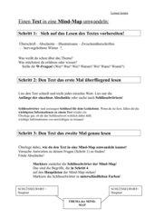 Text in mindmap umwandeln und ein Referat erstellen