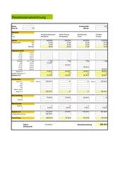 Excel - Reisekostenabrechnung
