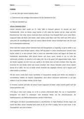 Infotext und Steckbrief Johann Sebastian Bach