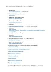 Linkliste für DAZ