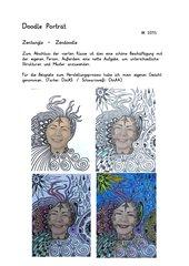 Doodle Porträt