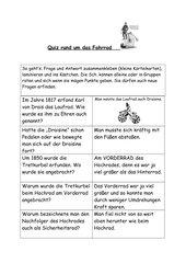 Fahrrad-Quiz
