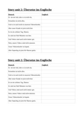 New Highlight 1 Bayern: Story unit 2