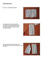 Papiertütenstern