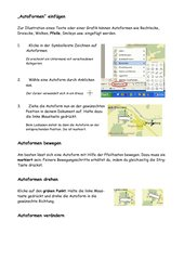 Merkblatt Autoformen Teil 1