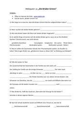Webquest/ Fragen zu