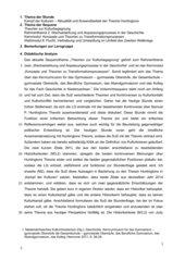 Ausführlicher Unterrichtsentwurf: Theorien zur Kulturbewegung Huntington Geschichte 12