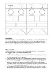 Materialien Gruppenpuzzle: grafische Darstellung von Brüchen