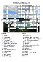 New Highlight 5 Bayern - words unit 3