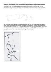 Anleitung zum Erstellen eines Ausmalbildes als Lösungsbild eines Aufgabenblattes