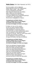 Wolke Sieben - Text (Rapstudio Lahr)