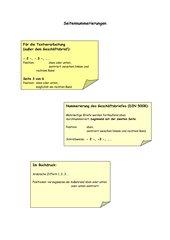 Merkblatt Seitennummerierung