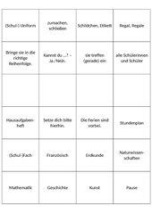 Vokabelkärtchen deutsch New Highlight 2