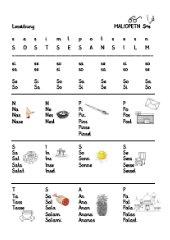 Alphabetisierung - Leseübung, Teil 2
