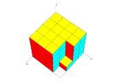 Kopfgeometrie – wie viele Einheitswürfel fehlen?