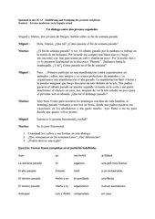 Einführung des pretérito indefinido in der JG 12