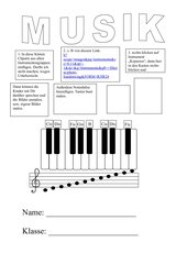 Deckblatt Musik 5. und 6. Klasse