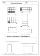 Berechnen von Flächeninhalten