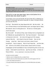 Lernkontrolle deutsch klasse