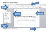 PowerPoint Anwendungsfenster