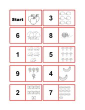 Domino Zahlenraum bis 10
