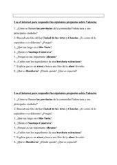 Webquest Comunidad Valencia Encuentros 2 Unidad 2