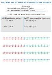Rechenregeln, Abstand und Mitte rationaler Zahlen
