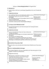 Angaben für Bewerbungsschreiben