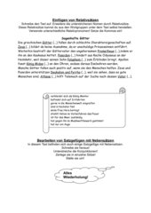 Grieschiche Sagen - Relativsätze
