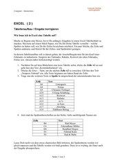 Umgang mit dem Computer (Kapitel 3 - Teil 2)