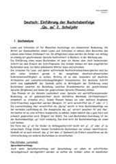 Einführung der Buchstabenfolge Qu,qu
