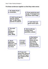 Reading Comprehension Strategy  2
