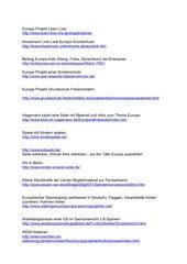 Anregungen und Material zum Thema 'Europa'