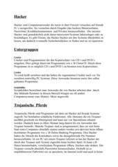 Referat zum Thema Hacker-EdV (Informatik)