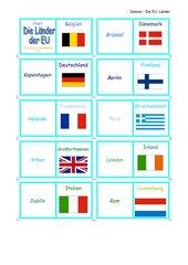 Domino - Die Länder der EU