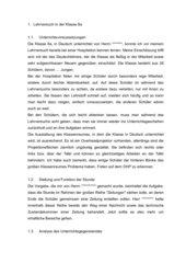 Unterrichtsentwurf Zeitungen