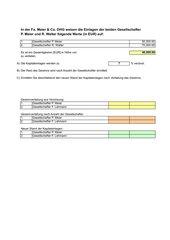 Excel: Vier Rechenarten inkl. Prozentrechnen