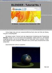 3D Grafik mit Blender