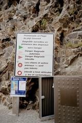 Französische Schilder #1 - Französisch, Straßenschild, Strand, plage, signe, danger, interdite