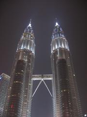 Petronas Towers3_Kuala Lumpur_Malaysia - Asien, Malaysia, Kuala Lumpur, Architektur, Gebäude, Petronas Tower, Skybrigde, Brücken