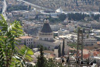 Verkündigungskirche - Israel, Galiläa, Nazareth, Verkündigungskirche, Giovanni Muzio, Kirche