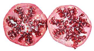 Granatapfel #2 - Frucht, Granatapfel, Grenadine, Punicoideae, Samen, Samenmantel, Vitamine, Obst, innen, rot